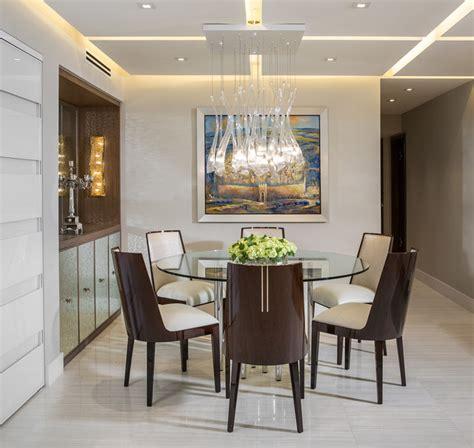 Modern Dining Room Miami Modern Miami Condo Custom Cabinetry Design Contemporary