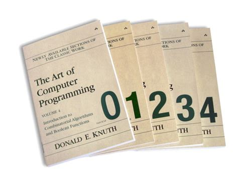 art of computer programming knuth art of computer programming volume 4 fascicles 0 4 the