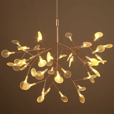 low voltage hanging tree lights branch chandelier for