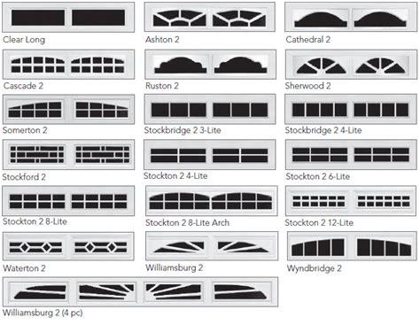 Garage Door Window Panels 192 Series Garage Doors Overhead Door Company