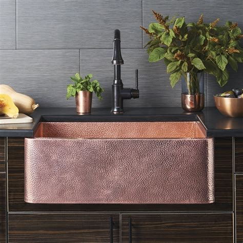 native trails copper farmhouse sink beauty of copper farmhouse sink the decoras jchansdesigns
