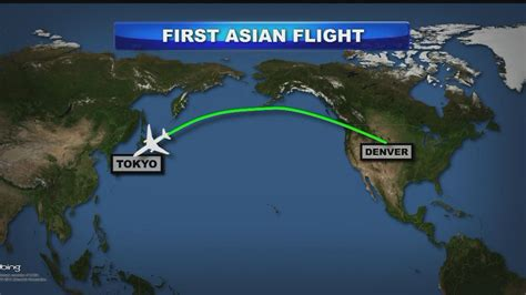 united states flight map united to fly 787s from denver to tokyo 171 cbs denver