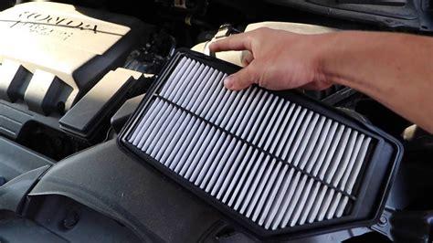 Honda Odyssey Cabin Air Filter by Change Honda Odyssey Engine Air Filter Cabin Air Filter