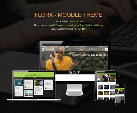 themes moodle nulled download flora responsive moodle theme nulled