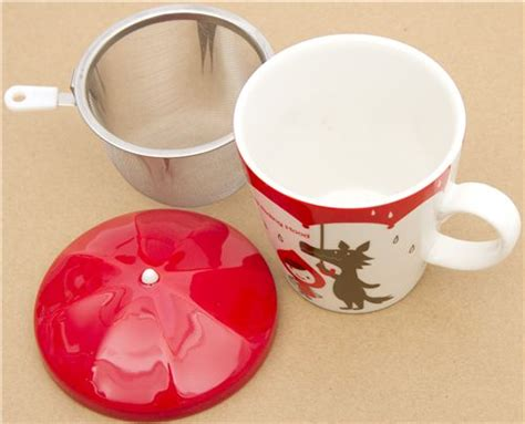 cool cups in the hood little red riding hood cup wolf otogicco japan cups mugs