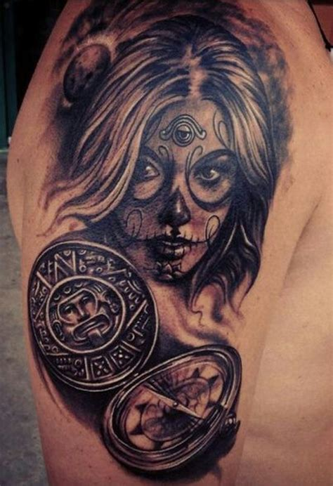 feminine sugar skull tattoo designs 51 ultimate sugar skull tattoos amazing ideas