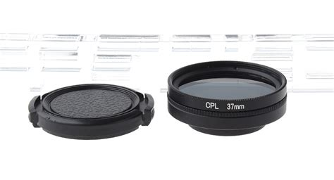 Cpl Filter Lens Accessory 37mm Xiaomi Yi Filter Lensa Black 20 5 83 gp y37 37mm cpl filter lens set for xiaomi yi sports black at fasttech