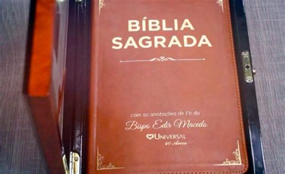 sagrada biblia con biblia sagrada con las anotaciones de fe del obispo macedo articulo video obispo macedo