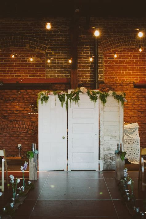 Wedding Ceremony Doors by 10 Fab Ways To Use Vintage Or Re Purposed Doors At Your