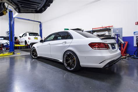 lowered mercedes boostaddict white renntech tuned 2014 w212 mercedes