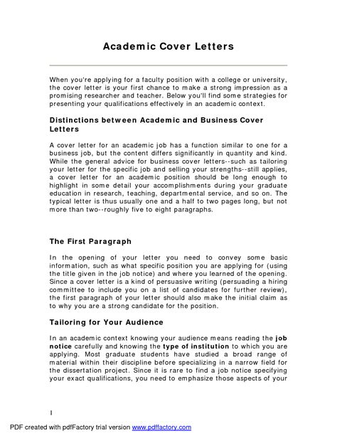 cover letter sle for professor free resumes tips