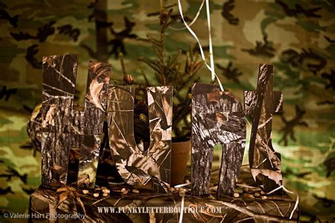 hunting themed home decor hunting fishing outdoors camo birthday party ideas photo