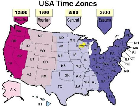 us map of states with time zones time zone map detailed you may contact us either by mail