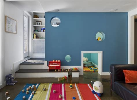 minimalist playroom furniture decor 11