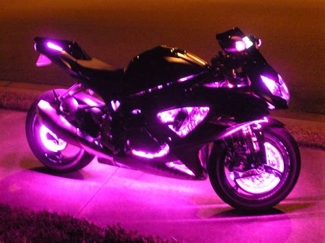 LED Lighting: Contemporary Design LED Lights For Motorcycles Motorcycle Lighting Accessories
