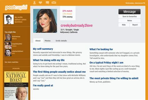 dating profile template for great dating profile templates dedaltechnology