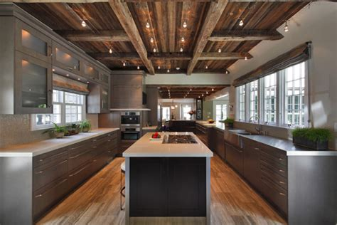 rustic contemporary kitchen defining elements of the modern rustic home