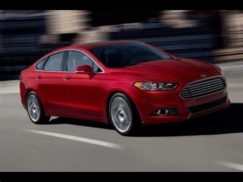 2015 Ford Fusion Turbo by 2015 Ford Fusion Start Up And Review 2 0 L 4 Cylinder