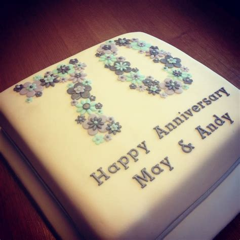 anniversary cake 70th wedding anniversary cake cake wedding anniversary cakes