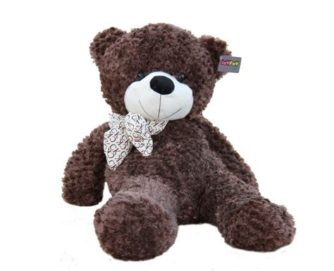 big teddy joyfay 100cm 1m 39 quot coffee teddy big stuffed