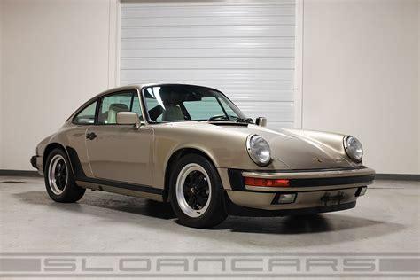 porsche gold 1987 porsche 911 white gold 13 374 sloan cars