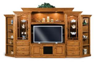 Mirrored Sideboards Amish Tv Entertainment Center Hoosier Solid Wood Media