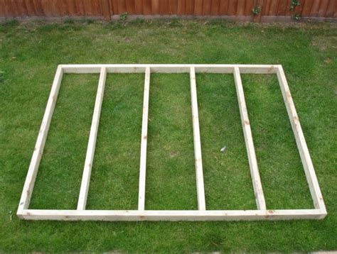 Timber Shed Base by Shed Timber Base Eaton Fencing