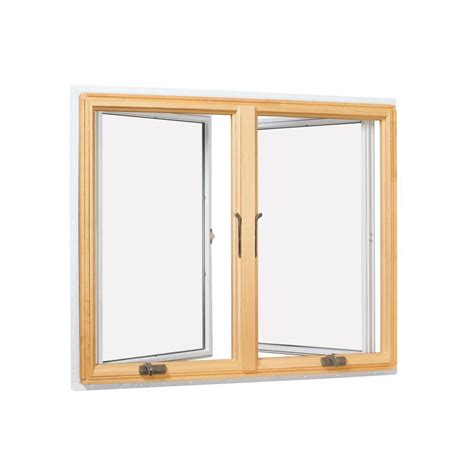 home depot awning window andersen 40 75 in x 40 813 in 400 series casement wood