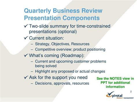 ppt quarterly business review template powerpoint