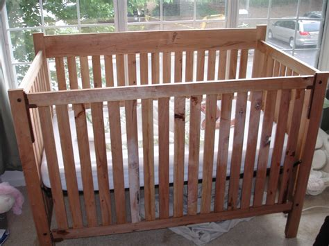 wooden build your own crib pdf plans