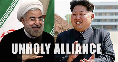 Unholy Alliance unholy alliance korea and iran forming a new axis