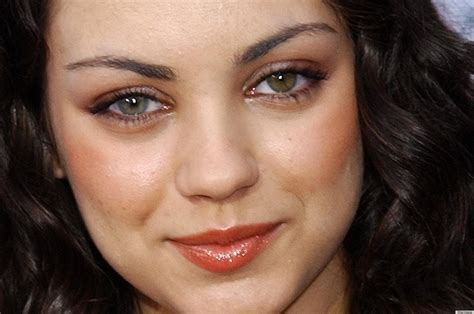 mila kunis eye color mila kunis before she was the sexiest alive photo