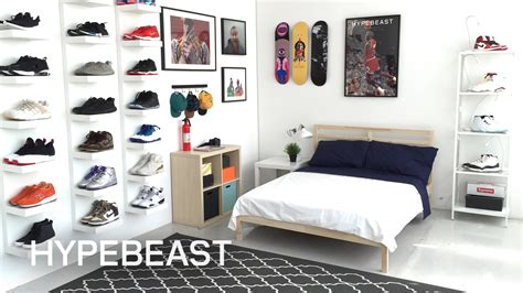 ideal bedroom ikea 174 and hypebeast design the ideal sneakerhead bedroom
