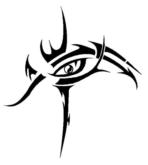 eye tribal tattoo 10 tribal eye tattoos only tribal