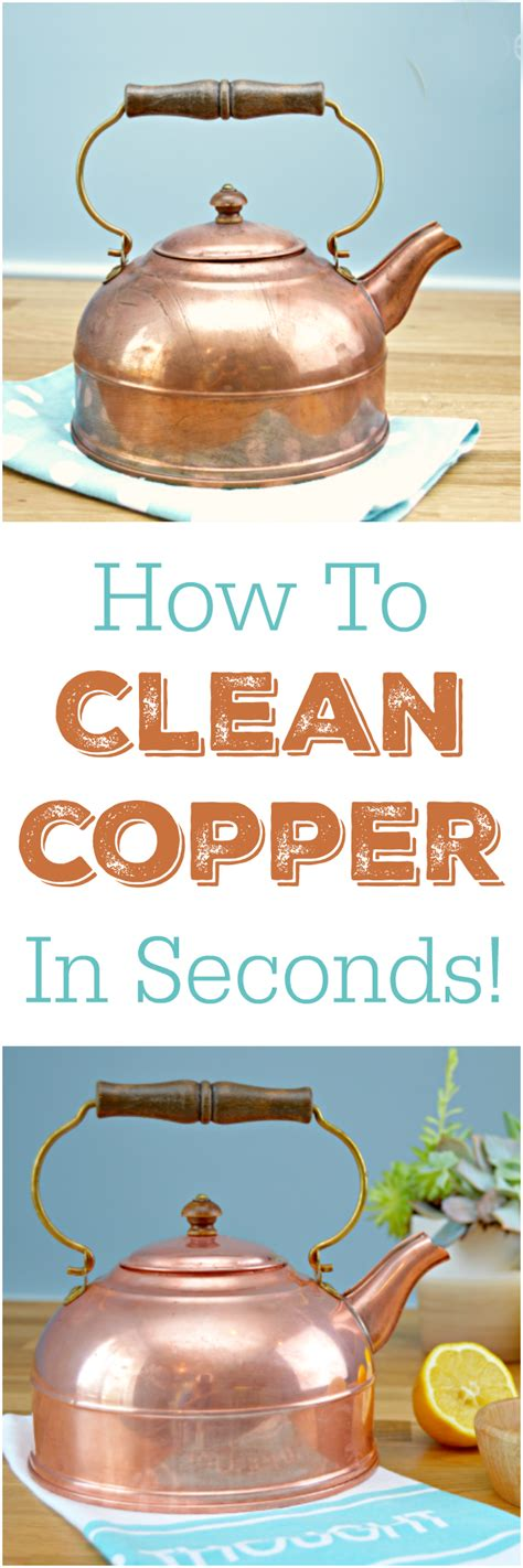 how to clean copper in seconds copper pots other and copper