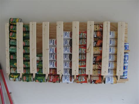 Can Organizer Rack by 17 Canned Food Storage Ideas To Organize Your Pantry