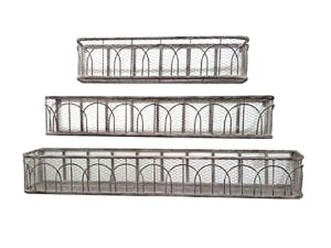 wire window box planter wire mesh metal window boxes s 3 viphomeandgarden