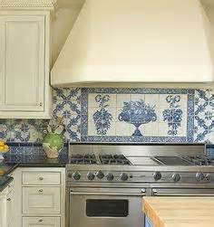 blue and white backsplash tiles 1000 images about blue white tiled kitchen on