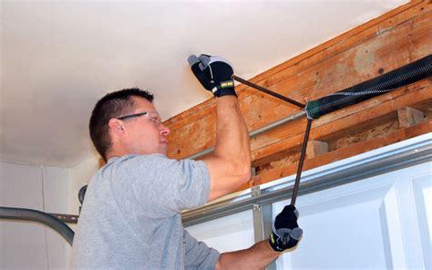 How To Remove A Garage Door by Broken Garage Door Springs Crown Point Affordable Garage