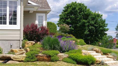 Devant De Maison Jardin by Amenagement Paysager Devant Maison Avec Best Idee Jardin