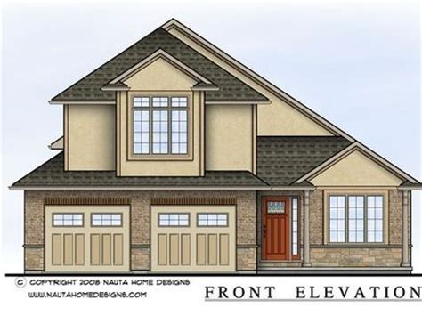 side split level house plans modern split level home exteriors split level home