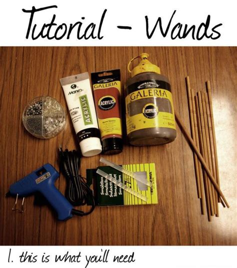 Harry Potter Things To Make Out Of Paper - how to make harry potter style wands 12 pics izismile
