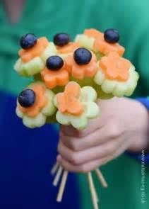 Flower Vase Craft Fun Amp Healthy Vegetable Bouquet Eats Amazing