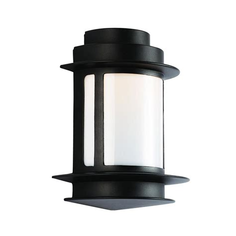 Home Depot Outdoor Wall Lighting Outdoor Lanterns Sconces Outdoor Wall Mounted Lighting The Home Depot