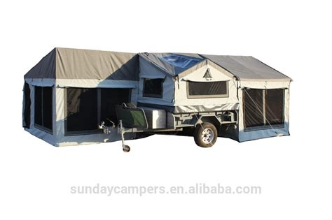 Awning For Camper Trailer 4x4 4wd Camper Trailer Tent 5 Person Durable Canvasv