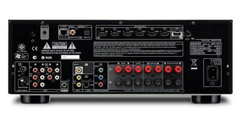 audio centre denon avr  home theater system