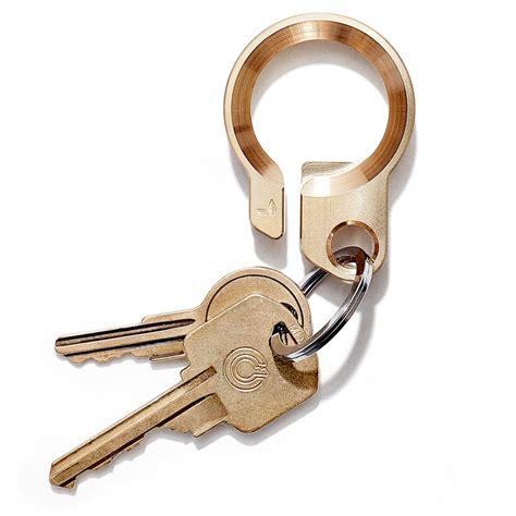 Key Ring brass keyring chain bottle opener hook solid brass block