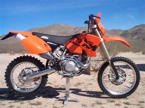 Ktm 525 Exc Horsepower Ktm 525 Exc