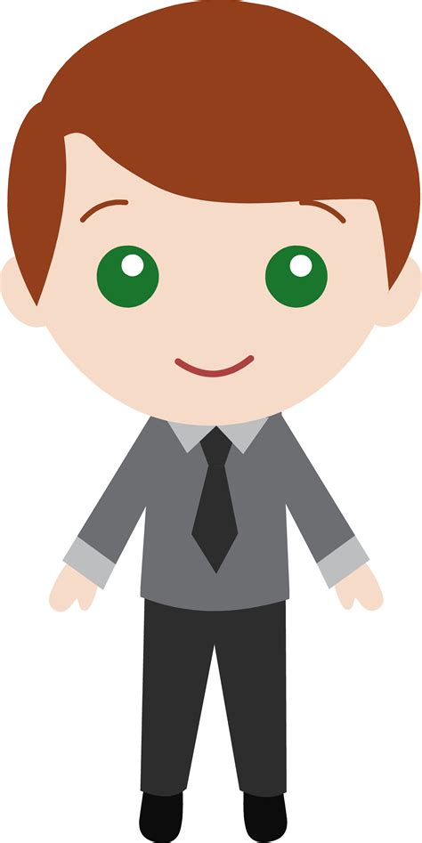 Image For Flowers cartoon man in a suit