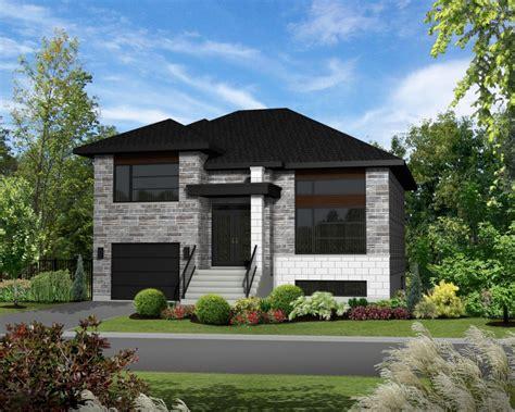 split level bungalow house plans projet harmonie maisons 224 boucherville